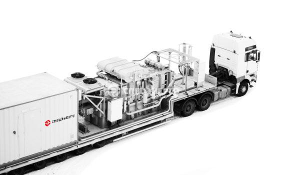 Мобильная модульная подстанция 110 кВ для ПАО «Оренбургнефть»