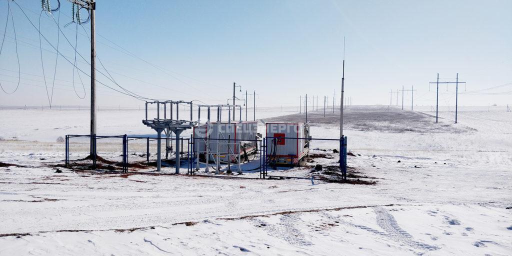 ММПС 110 кВ для ПАО «Оренбургнефть»