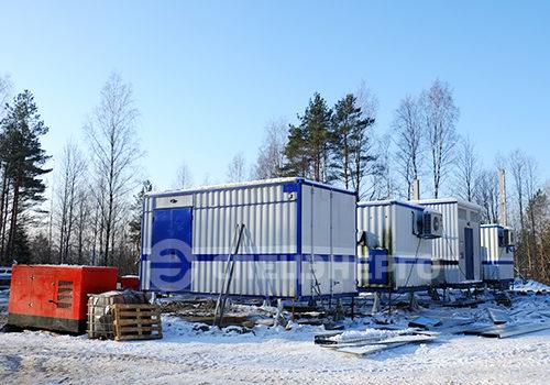 Модульная подстанция 35/10 кВ Запольедля ПАО «Ленэнерго»