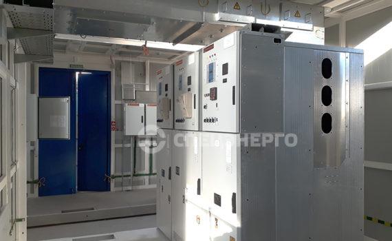 ЗРУ 10 кВ для ПС 220 кВ КС-7А Зейская