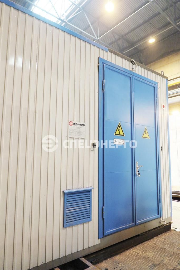 ЗРУ 35 Верхнебалкарской ГЭС 2