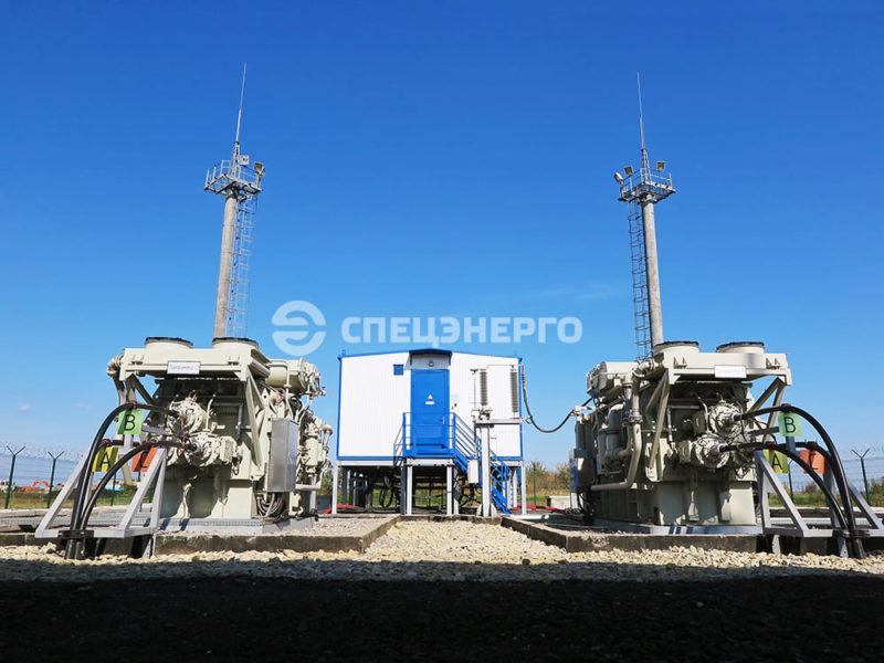 МПС Haier (10 кВ трансформатор)