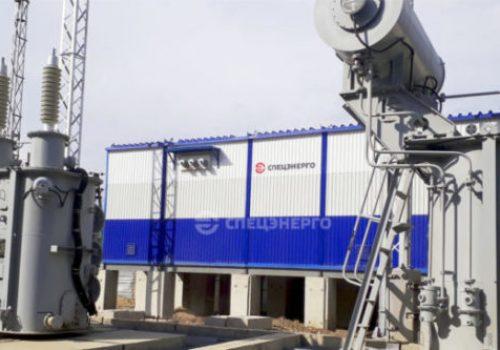 Блочно-модульное здание для Перевальное-2